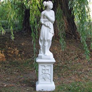 venus italica replik skulptur garten statue auf s ule ebay. Black Bedroom Furniture Sets. Home Design Ideas