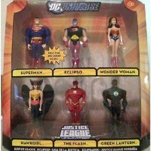 Dc Univers Justice League Unlimited Action Action Figure 6 Pack 27084727739