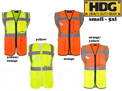 Ehrlich High Viz Safety Reflective Executive Safety Vests. Hi Vis Protective Work Wear! ZuverläSsige Leistung