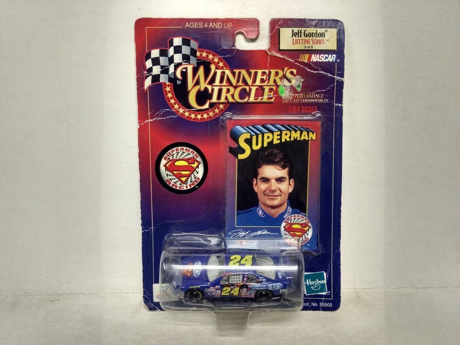 Nascar Sieger Kreis Jeff Gordon Superman 1 64 Skala-Modelle mb74