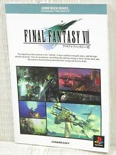 FINAL FANTASY VII 7 Guide PS Book DC*