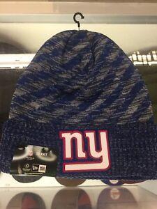 New York Giants New Era Knit Hat On Field 2018 TD Sideline Beanie ... 5c1bd027f03