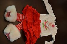 Baby Girls Size 6-9 Months Mud pie Boutique Christmas Clothes Outfit Pants Shirt