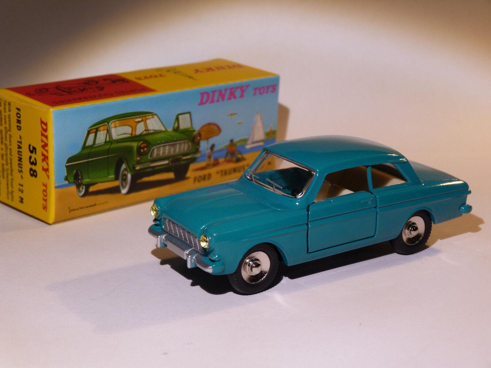 Ford TAUNUS 12M - ref 538 au au au 1 43 de dinky toys atlas da1341