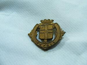 Ancien Blason De Ville Armoiries Savoie Écusson Plaque En Laiton 3,2 X 2,7cm Utgqma3i-10105211-390047975