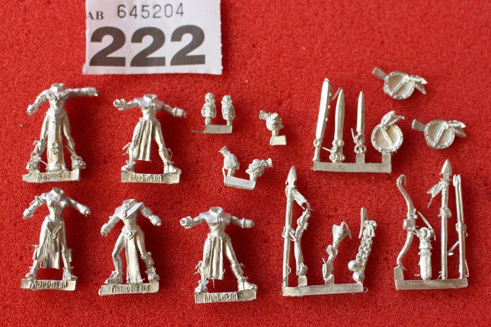 Games Workshop Mordheim Amazons Warriors x5 Warhammer Metal Figures Mint New