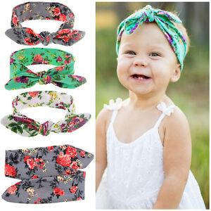 DIY-Baby-Kids-Girls-Rabbit-Ears-Bow-Turban-Knot-Headband-DIY-Hair-Band-Headwear