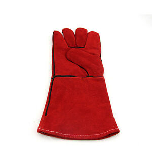 Durable Insulating Heat Resistant Leather Welders Gloves