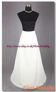 1-Hoop-Lycra-Bridal-Prom-Petticoat-Single-Crinoline-Underskirt-Fancy-Skirt-S-XL