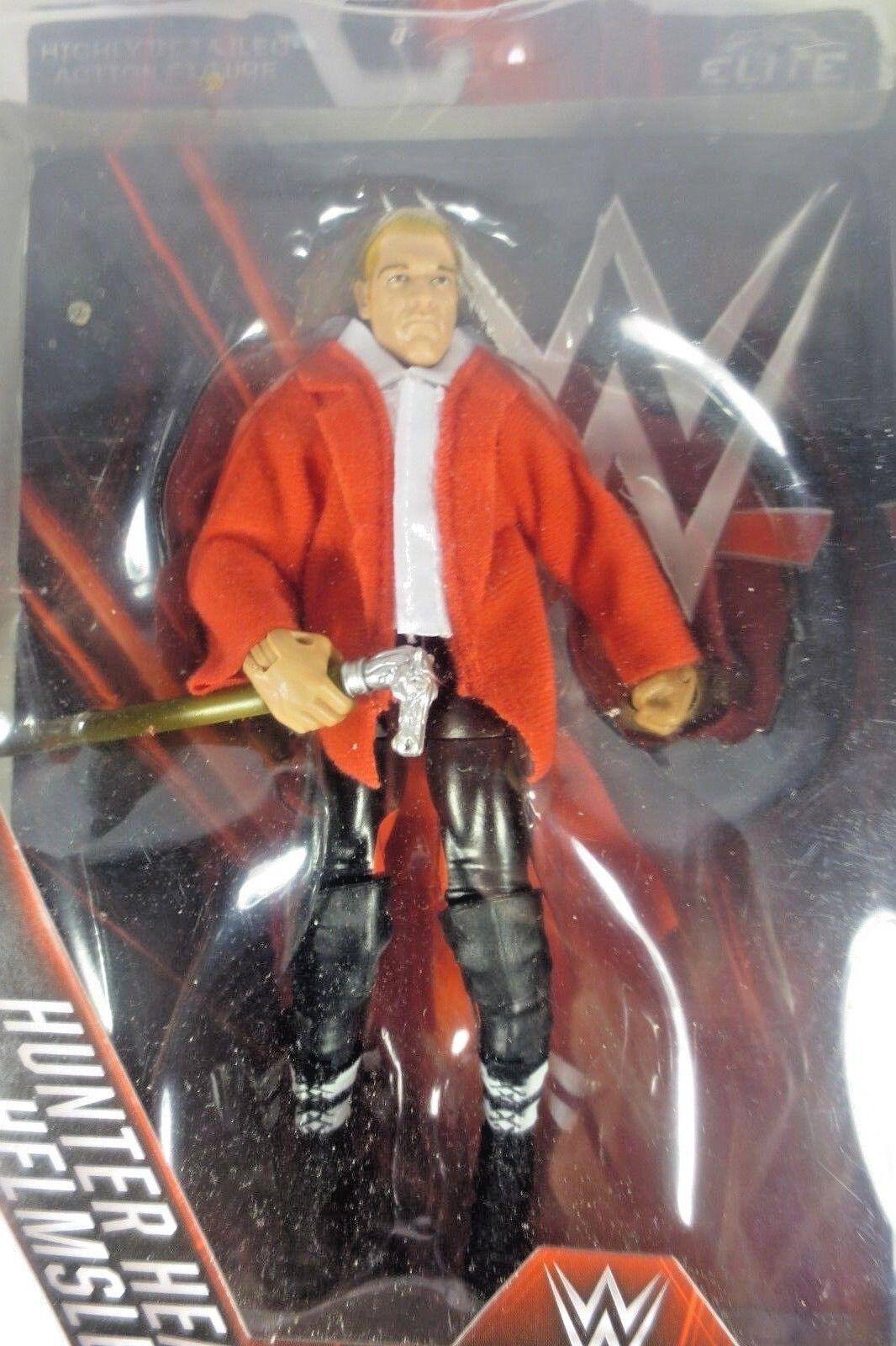 Mattel - WWE Network Spotlight - Hunter Hearst Helmsley(Tripe H) - Action Figure