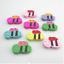 Pretty cute-assortiment multi couleur en forme de animaux en bois perles-uk vendeur