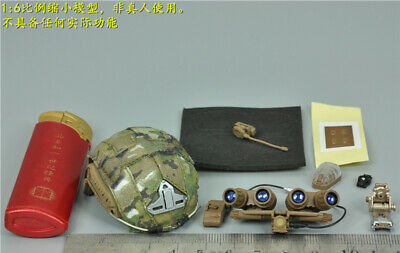 "EASY/&SIMPLE 1//6 ES 26007 SMU Type B Navy night vision Helmet For 12/"" Male Figure"