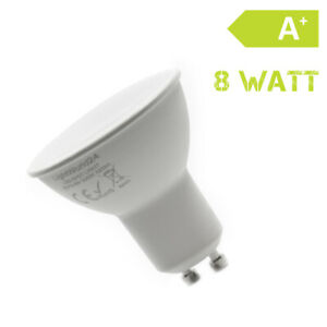 LED-GU-10-Source-D-039-Eclaraige-8-Watt-Blanc-Chaud-230-Volt