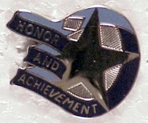 The English High School W30 Army DI pin cb