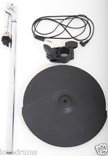 "Gatillo electrónico Roland CY8 12"" Doble Brazo/montaje de platillos + + + Abrazadera De Rack Plomo"