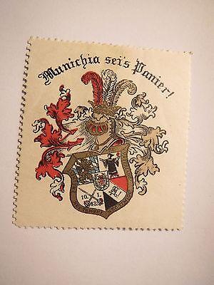 München Bayreuth Turnerschaft Munichia Wappen Marke