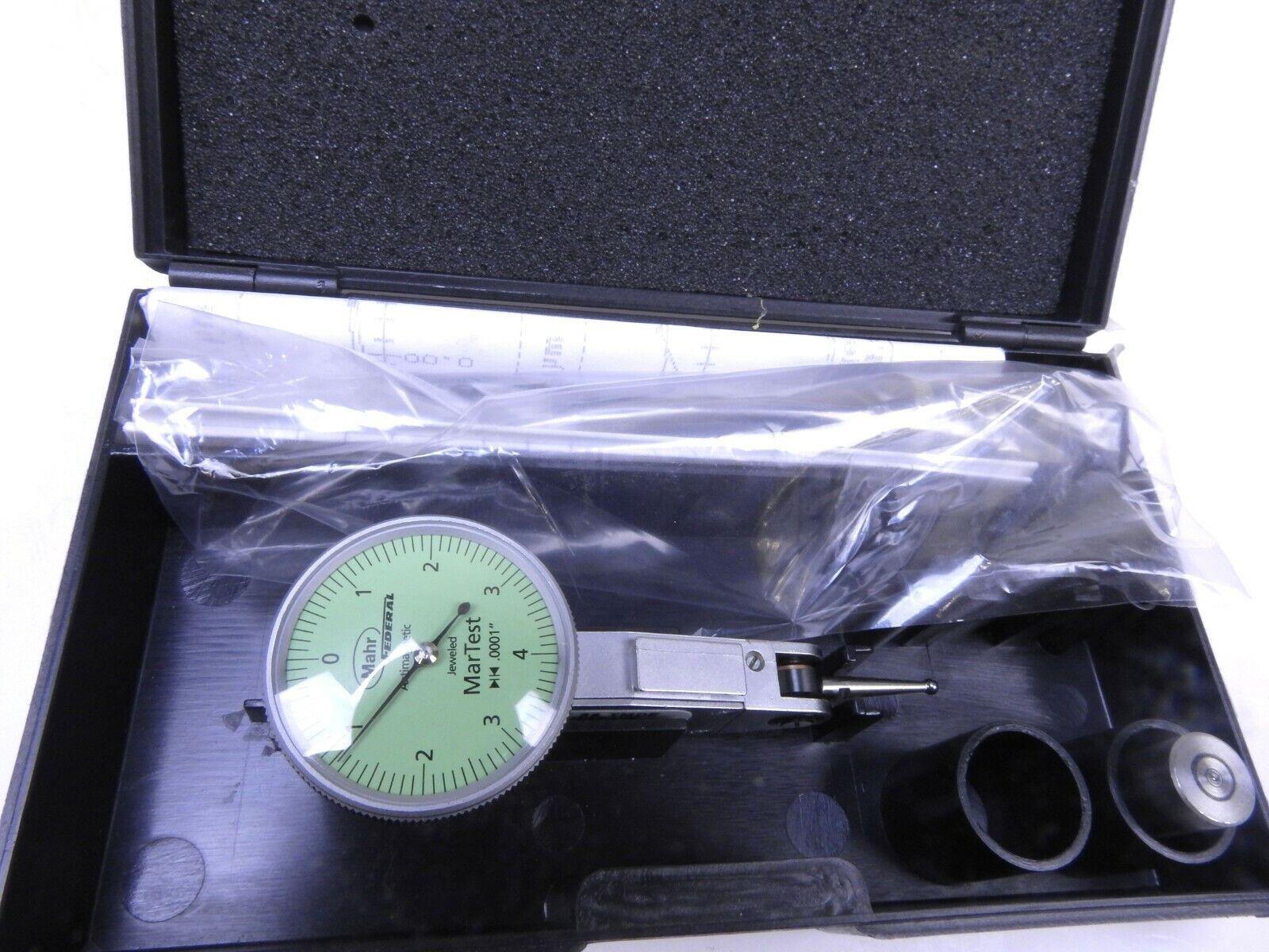 Mahr Martest 801SM 0-40-0 Dial Test Indicator Kit