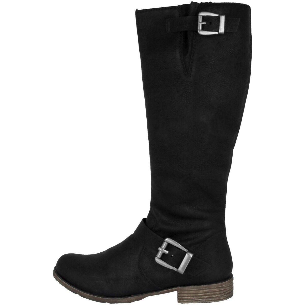 Rieker Rieker Rieker Antistress Eagle skor kvinnor vinter svart 74787 -00  rabatt lågt pris