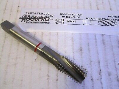 Spiral Point HSSE H3 5//8-11 Red Band 4-Flute Tough Treatable Steel Plug Tap