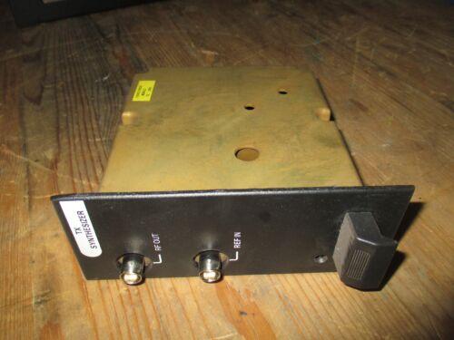 TX 19D902780G3 HARRIS M//A-COM SYNTHESIZER MASRT 3  MIII UHF