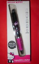 HELLO KITTY HK-93388-FR Capacitive Stylus iPad Tablet PC Touchscreen Pink &Black