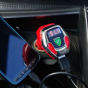 Details about SoundRacer X In-Car Engine Sound Effect FM Transmitter MP3  AUX SD Card Charger