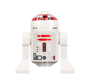 Lego R5-D4 7658 Long Red Stripes on Dome Star Wars Minifigure