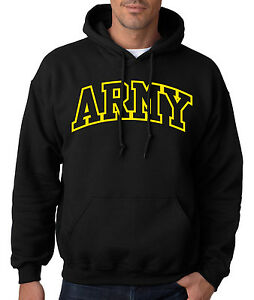 ARMY-ARCHED-HOODIE-United-States-Military-Hooded-Sweatshirt-Usarmy-Ranger-US-USA