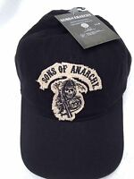 Sons Of Anarchy Reaper Crew Hat/cap Adult Size Patch Logo's Snapback