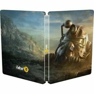 Fallout 76 Steelbook Case Best Buy Bonus Ps4 Xbox One