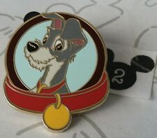 Tramp Lady and the Tramp Magical Mystery Series Collar Disney Pin Buy 2 Save $