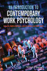 An Introduction to Contemporary Work Psychology by John Wiley & Sons Inc (Paperback, 2013)