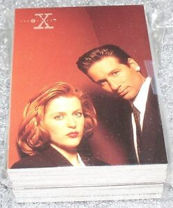 X-Files-Season-3-Complete-base-card-set-72-cards