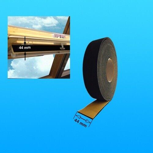 Velux Schaumdichtung Meterware für Dauerlüftungsklappe Holz Kunststoff Fenster
