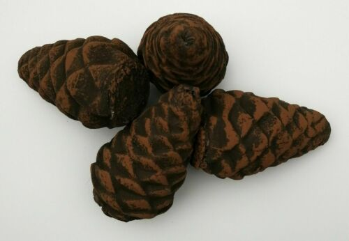 """3.5/"""" High Small Ceramic Imitation Pine Cones for Gas Firepit fireplaces stoves"""