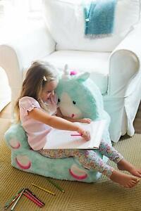 Kids Unicorn Chair Soft Cozy Seat Stool Sofa Couch
