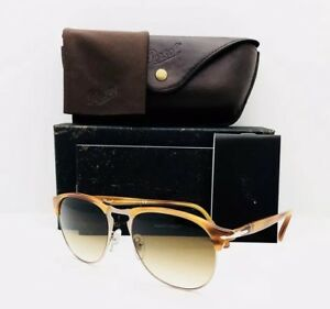 0df08b6955 New Persol Sunglasses 8649-S 960 51 Brown 56•18•145 With Case ...