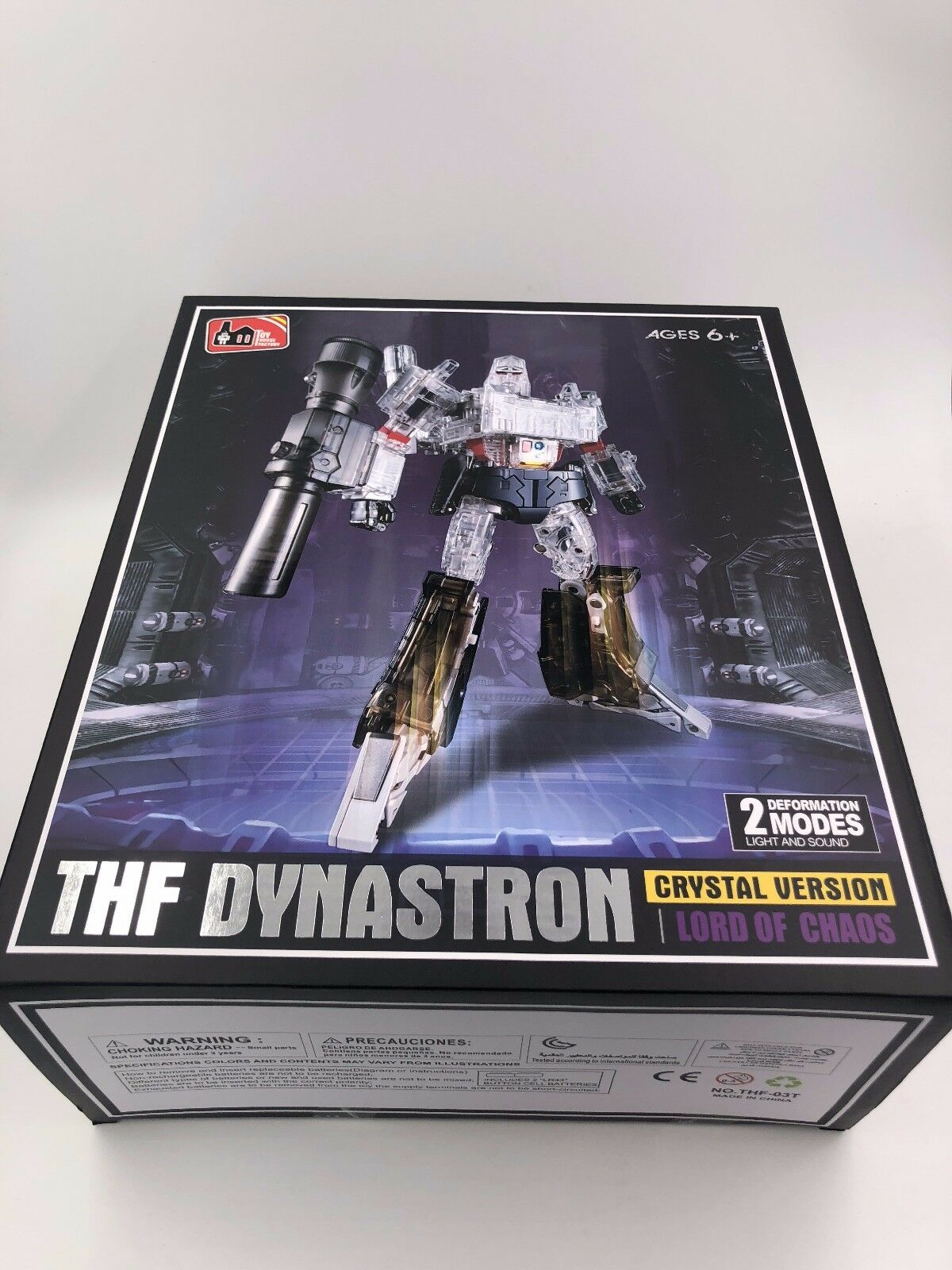 Toys House Factory THF-03T Crystal VER  Lord of of of Chaos