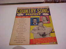 MAY 1960 COUNTRY SONG ROUNDUP MAGAZINE ELVIS PRESLEY JIM REEVES JUDY LYNN +++