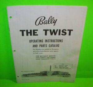 cheap price buy good buying cheap The Twist ORIGINAL Bally Bingo Pinball Machine Game Parts ...