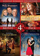 A Christmas Kiss 2.Holiday Romance Collection Movie 4 Pack Dvd 2013 2 Disc