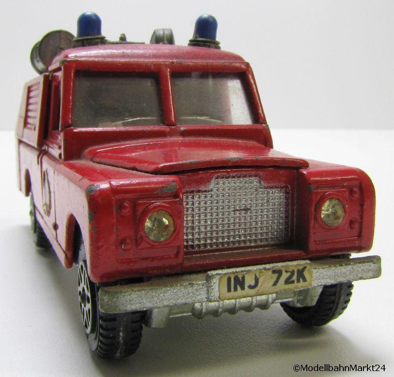 DINKY TOYS LAND ROVER Fire Service Vigili del Fuoco 109 W.B. scala 1 43