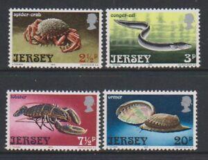 Jersey-1973-Marine-Life-Ensemble-MNH-Sg-99-102
