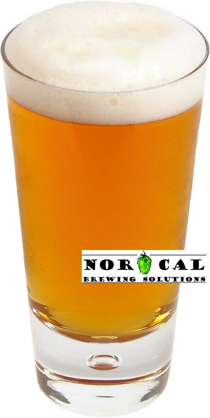 s l1600 Homebrew Beer Recipe Kit   German Hefeweizen Ale Extract 5 Gallon NorCal Brewing