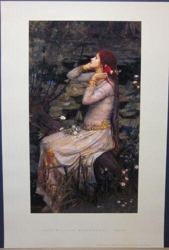 Open Edition Print Ophelia John William Waterhouse
