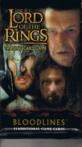 LOTR Lord of The Rings TCG - Bloodlines Booster x6 factory sealed - Deutschland - LOTR Lord of The Rings TCG - Bloodlines Booster x6 factory sealed - Deutschland