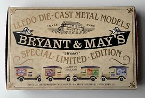 Lledo-Van-Set-BRYANT-amp-MAY-039-S-Special-Limited-Edition-of-12-500