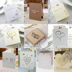 Lottery Ticket Holders - Lotto Wedding Favours - Butterfly/Heart ...