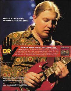 Allman-Brothers-Derek-Trucks-Band-DR-guitar-strings-ad-8-x-11-advertisement-234