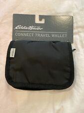 Black Regular ONESZE Eddie Bauer Unisex-Adult Connect Travel Wallet